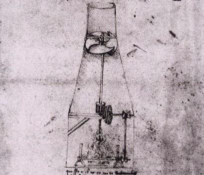 Il girarrosto di Leonardo da Vinci