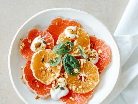 Frisse citrussalade
