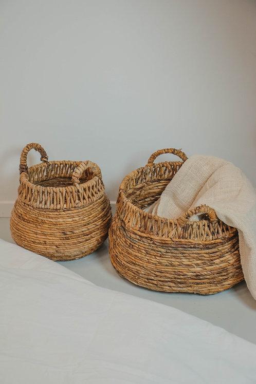 Banana leaves basket  (set of 2)