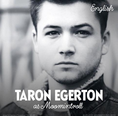 Moomintroll UK Taron Egerton
