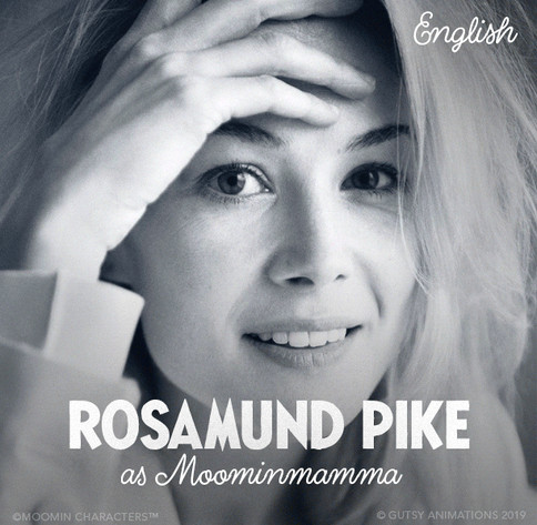Moominmamma UK Rosamund Pike