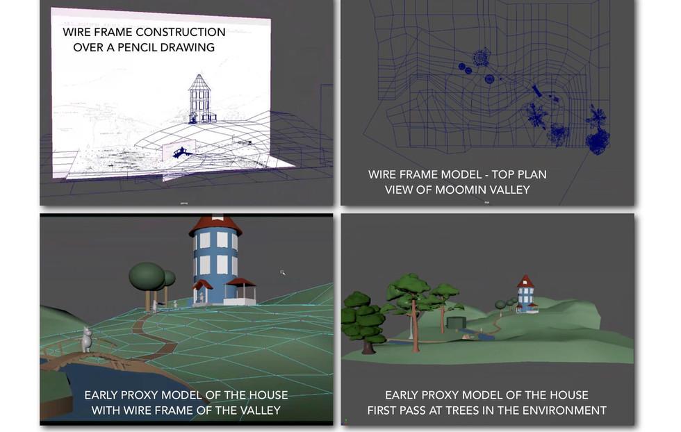 3D development using Maya