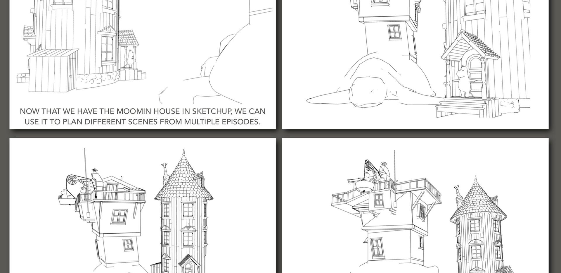 3D development using Sketchup