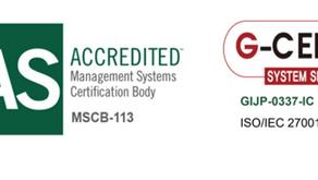 情報セキュリティ強化における、ISMS認証取得のお知らせ