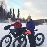 Lori & Nicole Fat biking