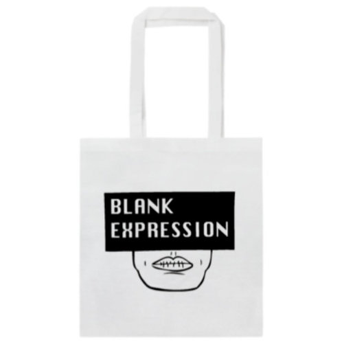 Blank Expression Tote Bag