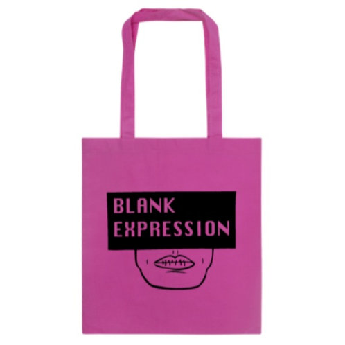 PINK Blank Expression Tote Bag
