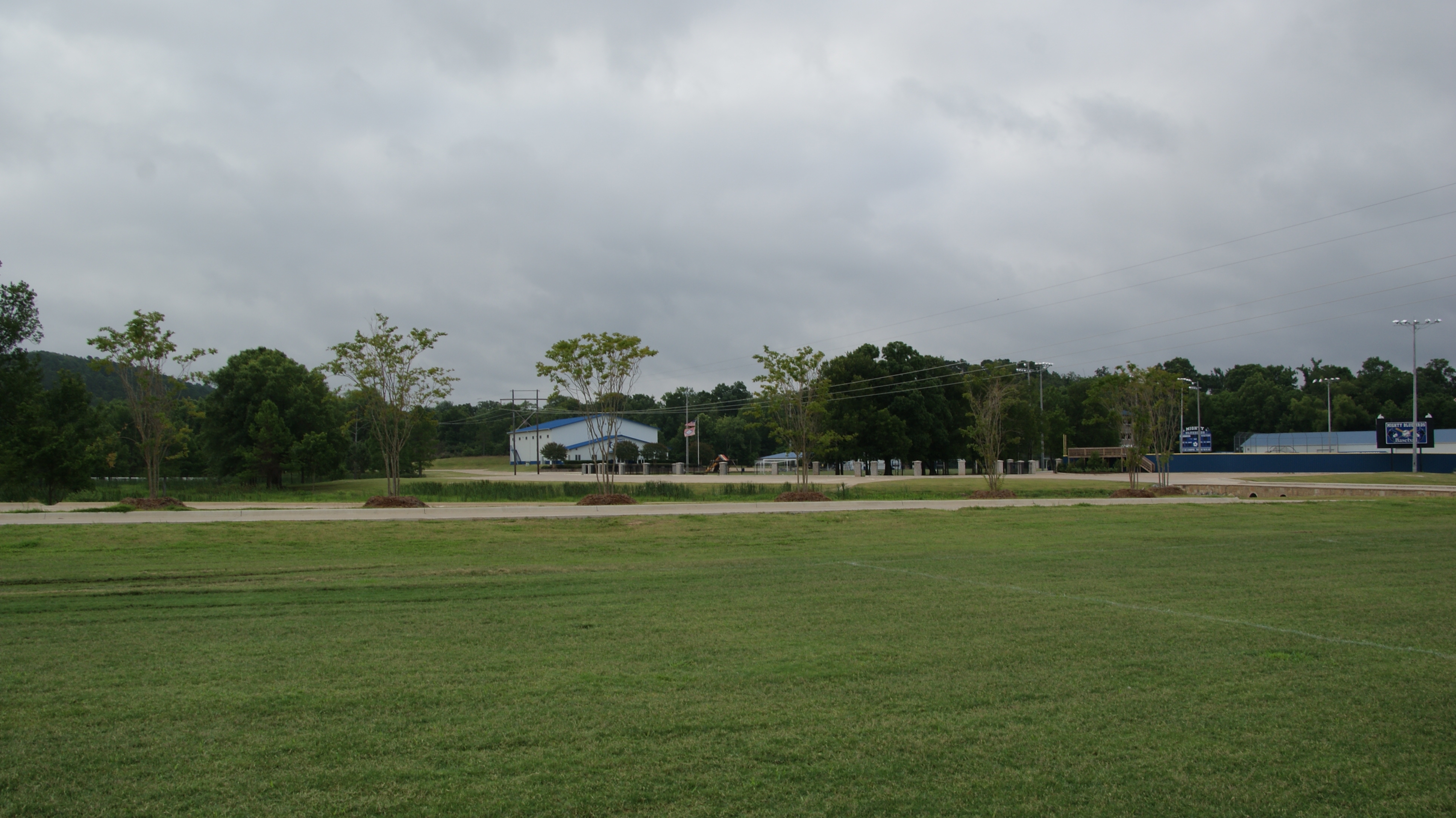 view of gym from Field 2