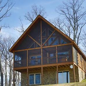 Breccia Cabin front