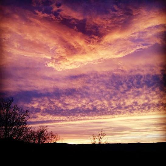 Brumback sunset
