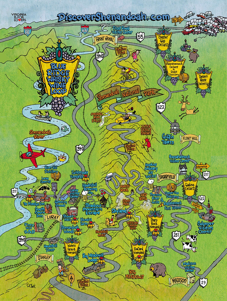 Blue Ridge Whisky Wine Loop