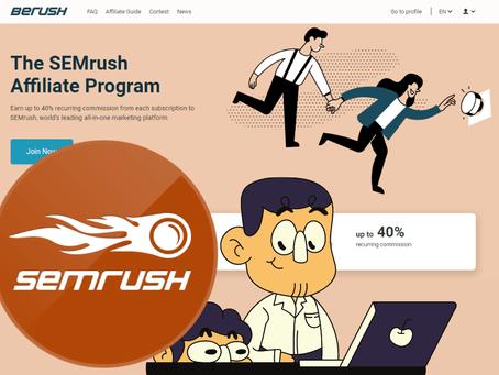 SEMrush Affiliate Program