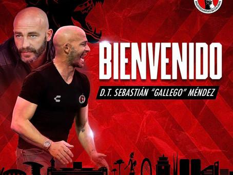 """Sebastián """"Gallego"""" Méndez, nuevo entrenador de Xolos"""