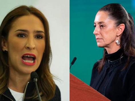 """""""Deje de actuar como mensajera"""", responde hija de Rosario Robles a Claudia Sheinbaum"""