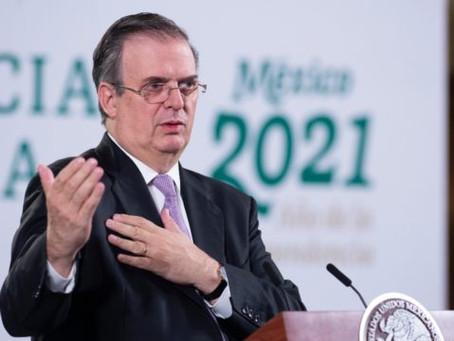 Confirma Marcelo Ebrard que si buscará la candidatura a la presidencia en el 2024
