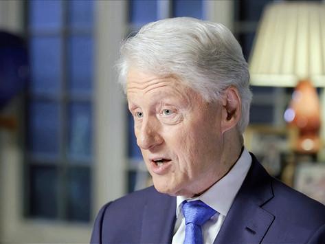 Abandona Bill Clinton hospital
