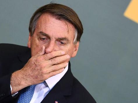 """""""No tenemos la culpa de absolutamente nada"""": Bolsonaro"""