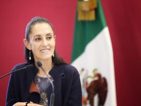 """Que me apunten en la lista"": Sheinbaum responde a Claudio X González"