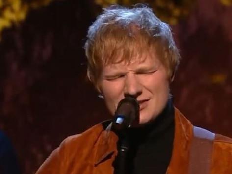 Ed Sheeran da positivo a Covid