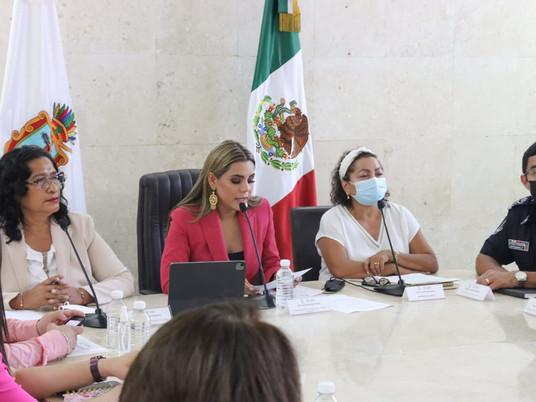 Cero tolerancia a la violencia contra las mujeres: Evelyn Salgado