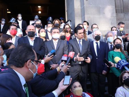 Promueve Va por México acción de inconstitucionalidad por revocación de mandato