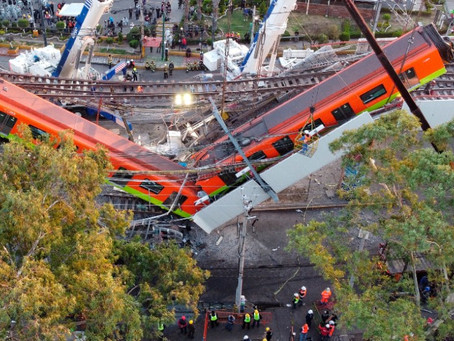 Fallas en construcción, causas del desplome de  tramo de la L-12 del Metro en CDMX