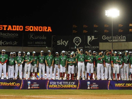 Pierde México en final de Mundial Sub-23 de beisbol