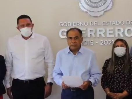 Garantiza Héctor Astudillo pago a trabajadores del Estado