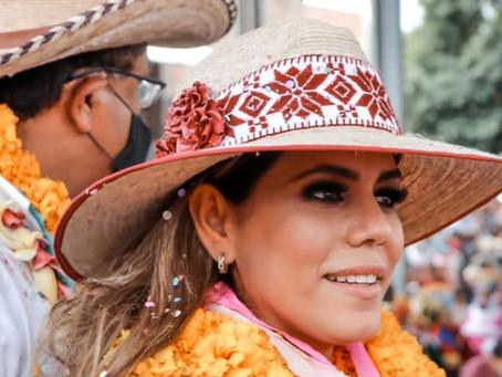Ofrece Evelyn Salgado detalles de su toma de protesta