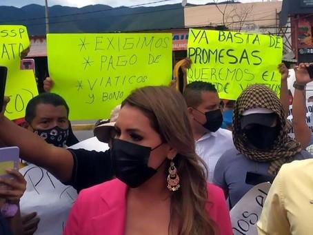 Atención especial a Iguala por inseguridad, promete Evelyn Salgado