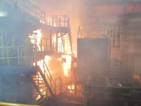 Flamazos en siderúrgica de Altos Hornos de México dejan 11 heridos