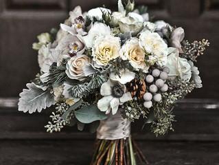 Зимний букет невесты. Советы флориста.