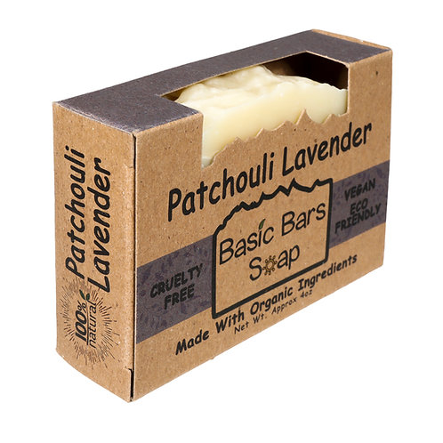 PATCHOULI LAVENDER BASIC BAR