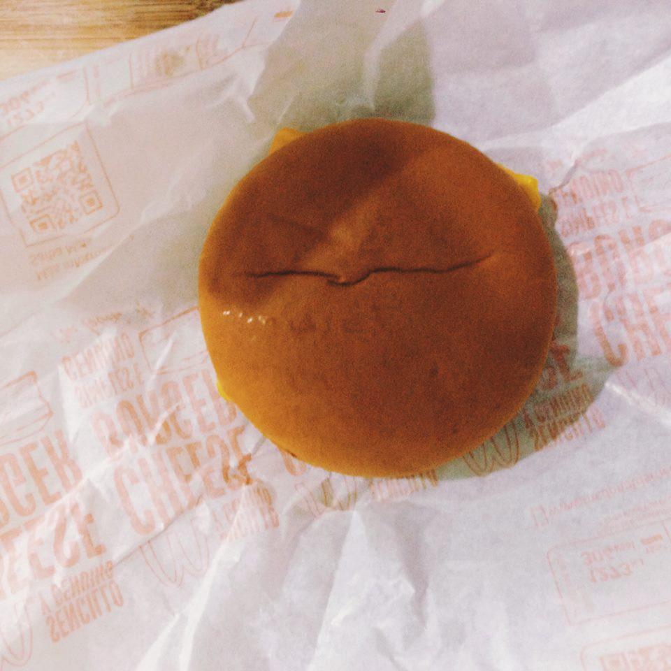 La famosa hamburguesa