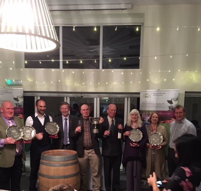 Trophy Winners 2017 Welsh Wine Awards