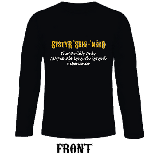 Mens/Unisex Long Sleeve Crew Neck T-Shirt