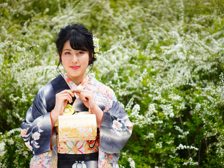 緑あふれるロケーションで成人式の前撮り✨ photo+life 縁~enishi~ 出張撮影 ロケーション撮影 