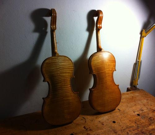 Violines Estrada y Beverido