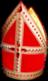 De kokermijter draagt Sinterklaas sinds 1986.