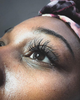 Fluffy babydoll lashes- Swipe to see bef