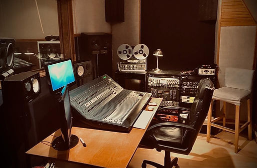 Cabine d'enregistrement Studio 440 / Protools HD / Control 24