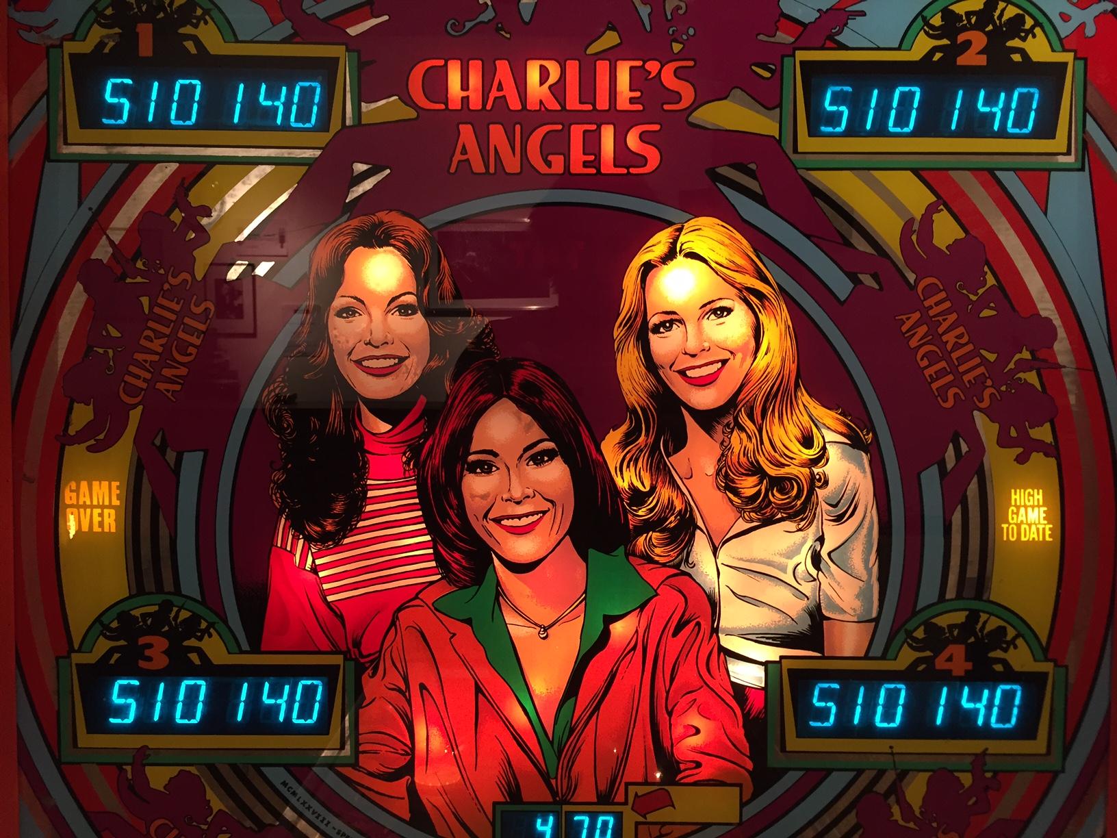 Flipper Charlie's Angels