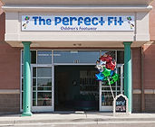 Store front of The Perfect Fit