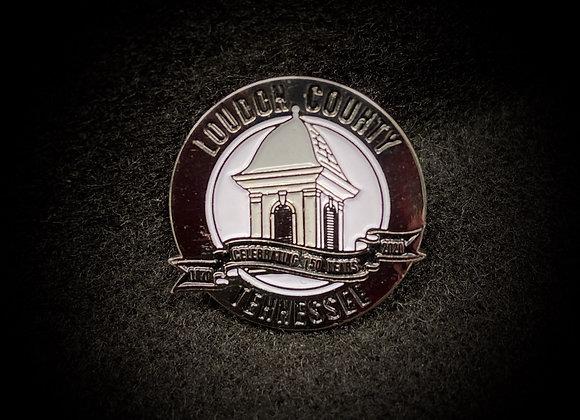 Loudon County Lapel pin
