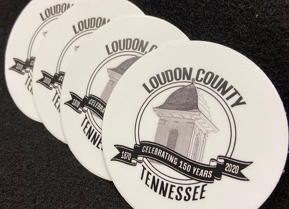 Loudon County set of 4 coasters