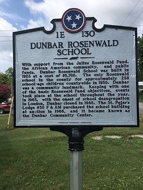 Dunbar School Historical Marker.jpg
