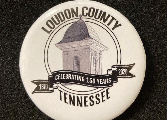 Loudon County button