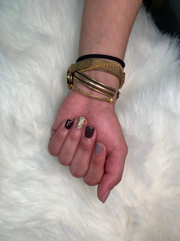 Gel toes/fingers deposit