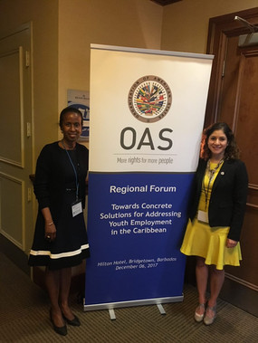 OAS Conference in Barbados organized by DevSolutions Consulting, December 2017