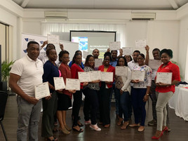 Second cohort, from the Development Bank of Jamaica's Introduction to Equity TOT course developed and implemented by DevSolutions Consulting, Sept. 2019